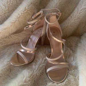 Call It Spring Gold Heels